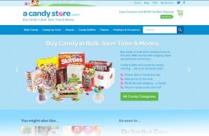 A Candy Store website
