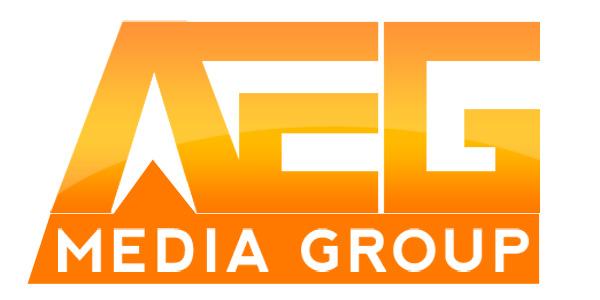 AEG Media Group custom logo design