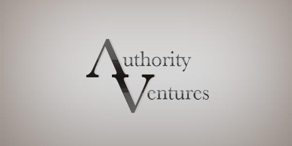Authority Ventures custom logo design