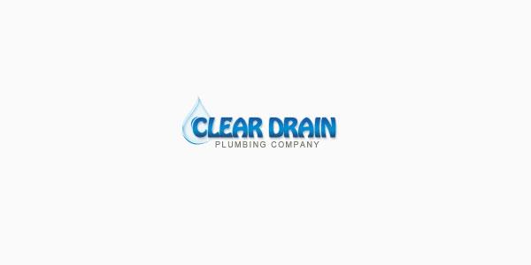 Clear Drain custom logo design