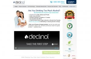 Declinol design & SEO