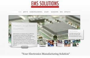 EMS Solutions web design and search engine optimization