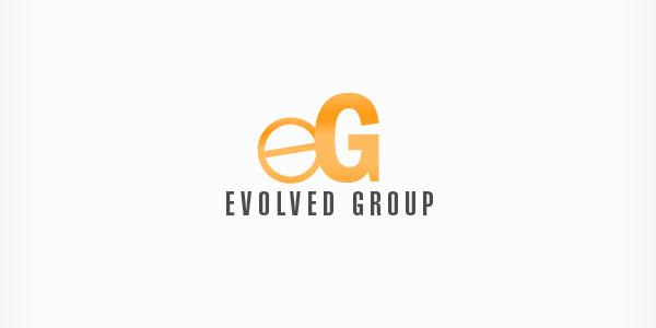 Evolved Group custom logo design