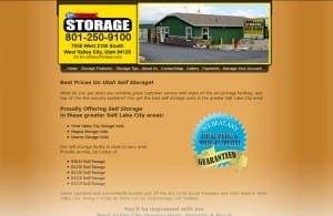 First Choice Storage site SEO