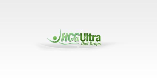 HCG Ultra Diet Drops custom logo design