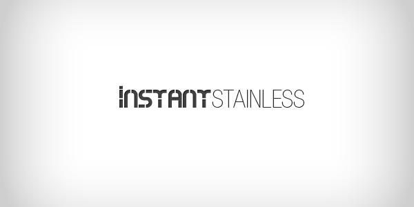 instant stainless custom logo design