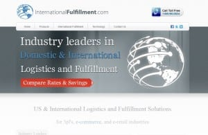 International Fulfillment website