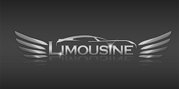 Limousine custom logo design