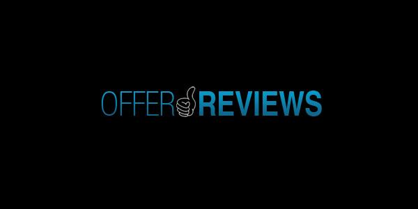 Offer Reviews custom logo design