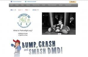 Pietros Fight website design