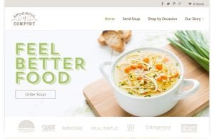 Spoonful of Comfort website