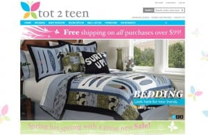 Tot 2 Teen website conversion optimization and SEO