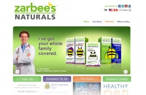 Zarbees website