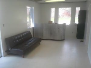 lobby remodel after