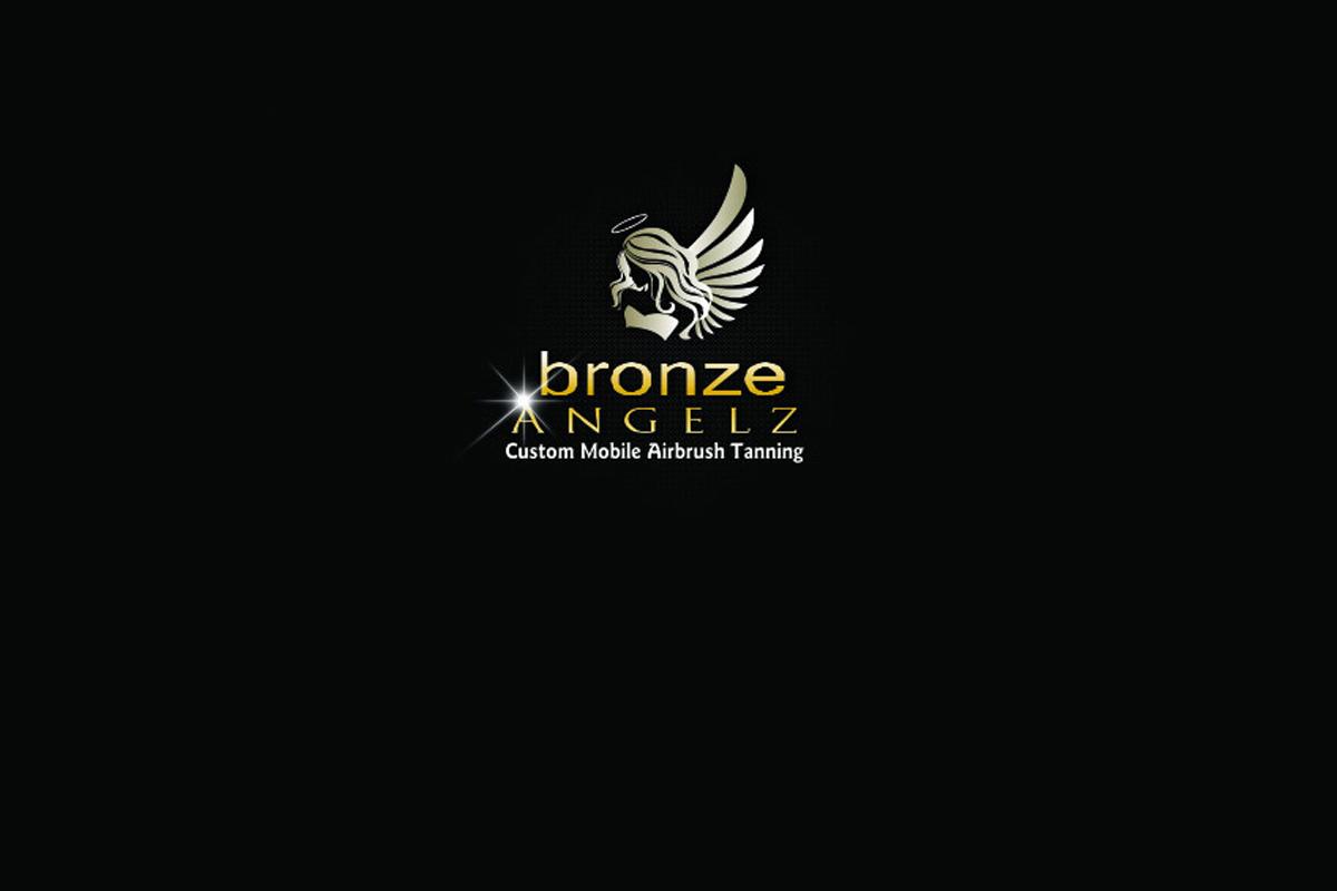 Bronze Angelz website design before