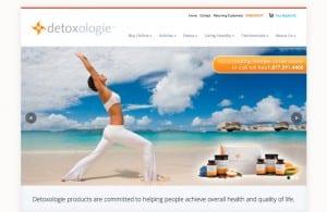 Detoxologie web design