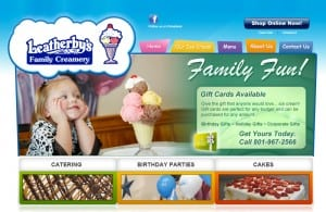 Leatherby's website