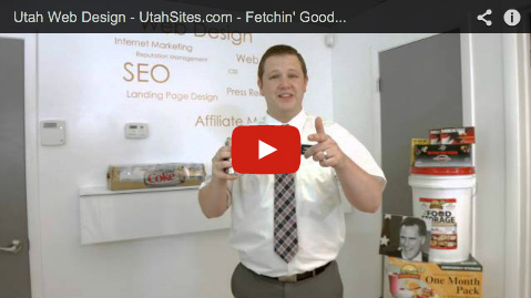 Utah web design commercial