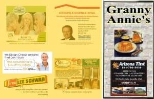 Granny Annie's menu