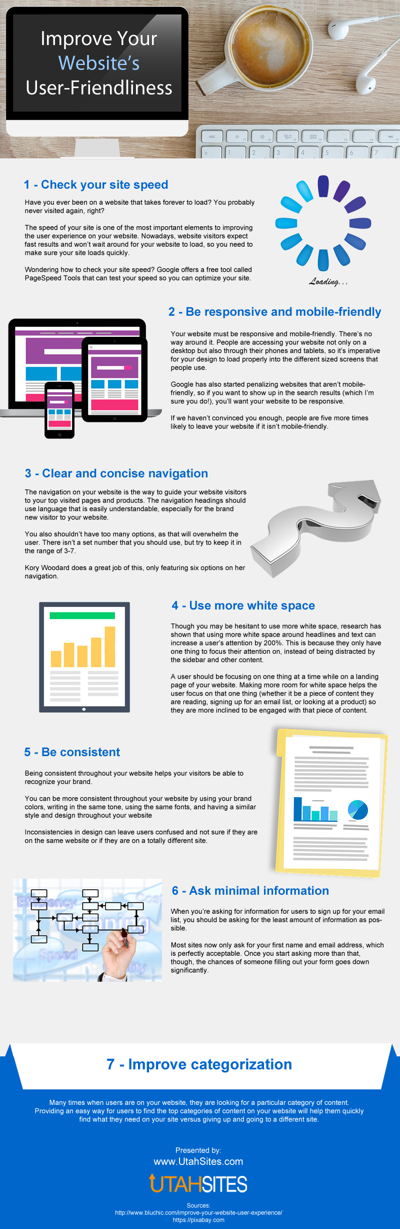 Improve Your Website's User-Friendliness [Infographic]