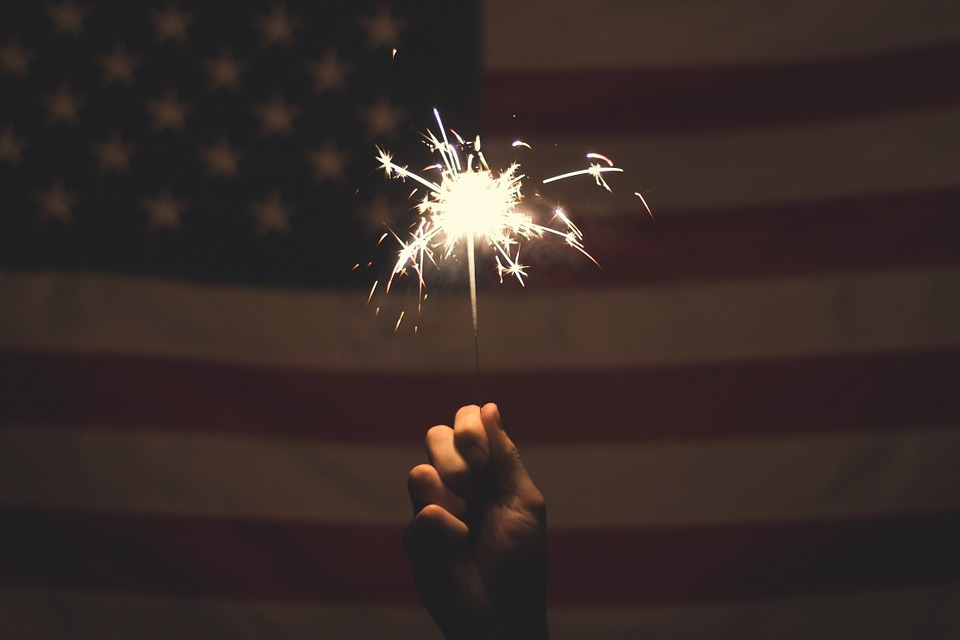 Add spark to website Fourth of July