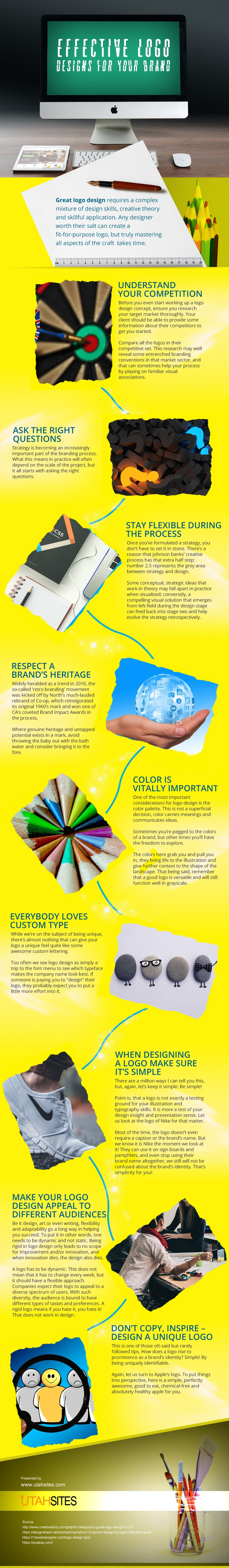 Effective Logo Designs for your Brand [infographic]